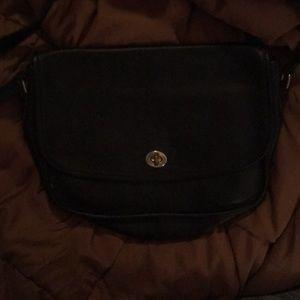 Navy blue Stone Mountain purse